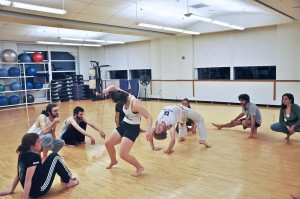 Vassar's Capoeira club meets three times a week in Walker MPR. Capoeira is an Afro-Brazilian dance style with martial arts influences that, like yoga, encourages a philosophy of life.Photo: Jiajing Sun/The Miscellany News