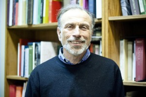 Professor of English Robert DeMaria's professional career at Vassar spans 38 years, during which time the Samuel Johnson specialist published an anthology of 18th century British Literature. Photo: Katie de Heras/The Miscellany News