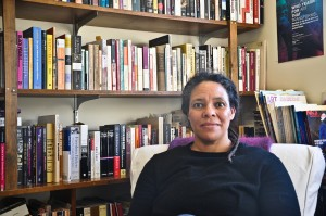 Associate Professor of Art Lisa Collins unites her interests in Art History, Africana Studies, American Culture Studies and Women's Studies through her classes on Black American art and visual culture. Photo By: Jiajing Sun