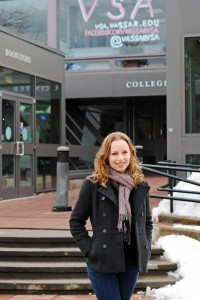 Amanda Zeligs '13 will serve as new Vice President of Academics for the VSA. Among her goals includes mandating coursework in social awareness. Photo By: Emily Lavieri-Scull
