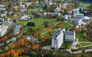 Middlebury College, located in upstate Vermont, is the home to the Middlebury Language Institute, where Anna Brashear '15, along with others, spent her summer in a full immersion language program. Photo By: Middlebury College