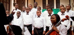 """Les Petits Chanteurs, which translates to """"The Little Singers,"""" will perform at Vassar on Sept. 20, the first day of Freshmen Families Weekend, to raise money for their school. Photo By: Veterens' Children"""
