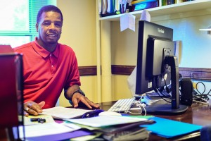 Associate Dean for the College of Campus Life and Diversity, and Team Coordinator for the Bias Incident Response Team, Edward Pittman was the leading voice behind the formulation of BIRT. Photo By: Spencer Davis