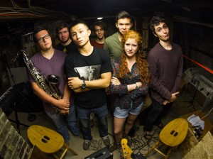DaFunq?, a student band formed last semester, will perform October 25 in the Villard Room. This will be the group's second performance on campus, and their show is hosted by ViCE Student Music. Photo By: DaFunq?