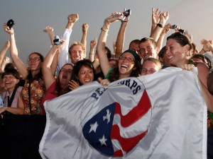 Several Vassar students join the Peace Corps after graduation. They have traveled to nations across the globe, working in a variety of fields ranging from HIV/AIDS prevention to water and sanitation. Photo By: thinkprogress