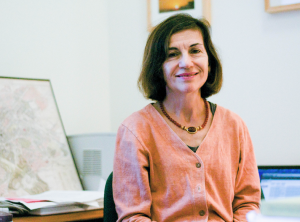 Professor of Art Eve D'Ambra specializes in ancient Greek and Roman art. She plans to travel to the Norwegian Institute on October 24 to deliver a lecture on Roman imperial female portraiture. Photo credit: Cassady Bergevin.