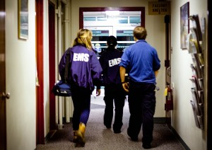 Vassar College Emergency Medical Services is a student-volunteer group which attends to campus calls throughout the week. They employ a Good Samaritan policy to encourage safety. Photo By: Sam Pianello