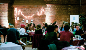 The Office of Religious and Spiritual Life (RSL) plans a coffeehouse gathering for students to express themselves. The past coffeehouse marks the sixth of its kind. Photo by: Cassady Bergevin.