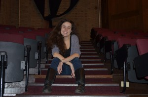 Comedian and President of The Limit Lucia Rieur '14 spent her Junior Year Abroad at The Second City in Chicago, IL, where household names Tina Fey and Amy Poehler kicked off their careers. Photo By: Elizabeth Berridge