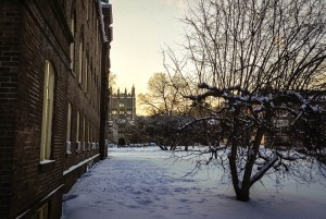 Over Winter Break, those students who remained at Vassar were not only confronted with blustery weather, but also a virtually deserted campus. Most non-essential offices were closed during this time. Photo By: Spencer Davis