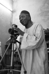 """The """"Chemises"""" photography exhibit explores 'new Africanism' through the intersections of fashion, tradition and modernity in 1960s Mali. The portraits will be on display at the Loeb until March 30. Photo By: Jennifer Davis"""