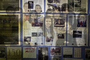 Over the course of its 100 year history, The Miscellany News has changed staff and design. Its numerous alumnae/i attest to this growth. Photo By: Spencer Davis