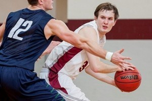 The men's basketball team enjoyed a free weekend after beating out opponent RPI 100 to 83. Sophomore Erikson Wasyl scored 21 points, and Johnny Mrlik had 17. Junior Alex Snyder had 15 points. Photo By: Vassar College Athletics