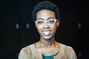 """Asia Howard '16 has taken on comedic, dramatic and musical roles, including her performances with No Offense and in the plays """"Not Anonymous."""" This spring, she plays Joanne in """"Rent."""" Photo By: Jacob Gorski"""