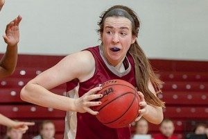 The women's basketball team recently won a match vs. Rensselaer Polytechnic Institute on February 18 with a final score of 80-64. The win led the Brewers to earn a spot in the league's post-season play. Photo By: Vassar College