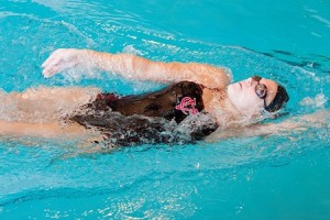 This past weekend, from February 19 to February 23, the women's swimming and diving team took part in the Upper New York States Collegiate finals. Photo By: Vassar College Athletics