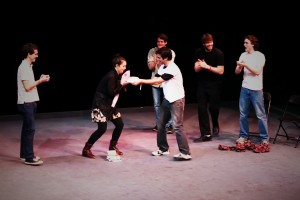 Comedygeddon will include three top comedic troupes on campus: The Limit, No Offense, and Happily Ever Laughter. They will perform this Friday and Saturday, beginning at 8 p.m. in various locations. Photo By: HEL