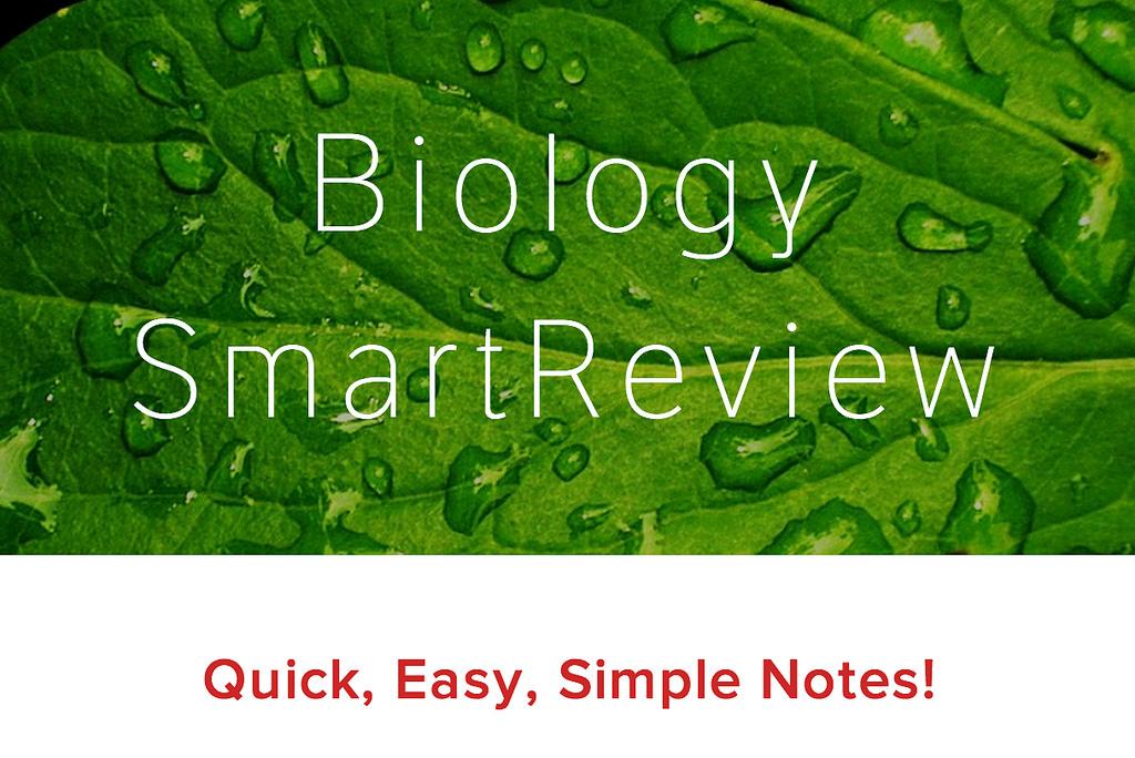 biology notes form one pdf