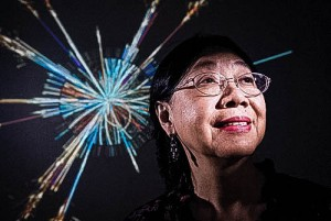Dr. Wu '63 will speak at the 150th Commencement ceremony. She was among the physicists who proved the existence of a new subatomic particle in July 2012. Photo By: University of Wisconsin, Madison