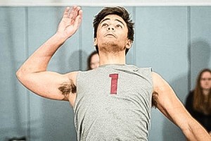 On March 29, the men's volleyball team competed against Division I Sacred Heart University and won 3-2. Freshman Quinn Rutledge, above, had had six kills, three digs and three assisted rejections. Photo By: Vassar College Athletics
