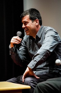 """Author and journalist Sayed Kashua has written several novels on the subject of Arab life in Israel. He now has a new sitcom, """"Arab Labor,"""" that explores the comedic aspects of Palestinian-Israeli tensions. Photo By: Brandeis University"""
