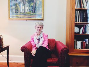 """Catharine """"Cappy"""" Hill began her presidency at Vassar in 2006. Hill has focused many of her efforts on ensuring the persistence of need-blind admissions, though some say while it offers access its reach is limited. Photo By: Marie Solis"""