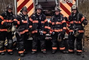 With their station located only minutes from campus, the Arlington firefighters union Local 2393 is always close at hand to respond to Vassar emergency calls. be they fire alarms or EMT alerts. Photo By: Arlington Fire Department