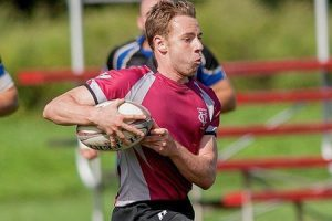 Sophomore Alan Hagins is a fullback on the men's rugby team. The men's rugby team recently had an impressive 54-7 win over Hamilton College. The rugby team is currently rallying for varsity status. Photo By: Vassar College Athletics