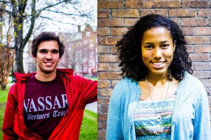 Vassar students recently voted freshman Alfredo Mazzuca of men's cross country and senior Margaret Kwateng of women's rugby as Athletes of the Year. Both were chosen from a pool of athletes. Photo By: Alec Ferretti & Katie de Heras