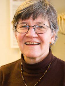 After 41 years, Professor Lucy Johnson will be stepping back from her position as a professor to become a Professor Emeritus starting in June. She will still be teaching an occasional class at Vassar. Photo By: Vassar College