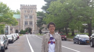 Benedict will be using his Tananbaum grant to work at two internships over the summer. Both internships will focus on Nguyen's interests in discrimination against and social justice for immigrants. Photo By: Meaghan Hughes