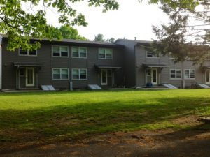 For the first summer in recent history, the THs will no longer be a viable option for summer housing. Students will instead be required to stay in Noyes House over the summer to alleviate cleaning stress. Photo By: Marie Solis