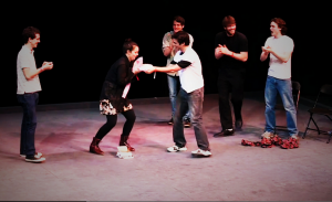 With the entrance of the freshman class each school year, Vassar's improv and sketch comedy groups are infused with new blood as members graduate, leading to an influx of original material. Photo: HEL