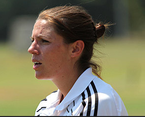 VC Women's Soccer coach Corey Holton has been working with the team since this year's pre-season. Holton has experience coaching at Division I schools as well as Division III schools like Vassar. Photo: Katie de Heras