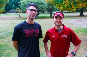The Vassar Cross Country coaching staff oversees both men's and women's programs as well as coaching the track team. With their guidance, cross country has reached unprecedented success. Photo By: Jacob Gorski