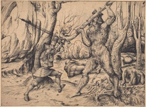 """The exhibit """"Imperial Augsburg: Renaissance Prints and Drawings, 1475-1540,"""" which is currently on display at the Loeb, explores the vast yet often overlooked artistic and cultural heritage of Augsburg. Photo By: Vassar College Media Relations"""