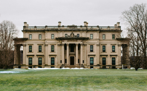 The Vanderbilt Mansion in Hyde Park is only a short drive from campus and is open year-round. If  you can't make it to one of the tours of the mansion, you can still explore the beautiful estate grounds.