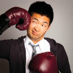 """Phil Yu is the founder of the popular blog """"Angry Asian Man,"""" through which he tackles instances of racism against Asians in the public sphere, his experience with which he recently spoke about at Vassar. Photo By: Phil Yu"""
