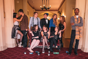 """Britomartis' cast of actor-directors will present their fall production, """"Vile Bodies,"""" at the end of November. The members devised the show, adding their own flare and interpretation to the themes of Evelyn Waugh's novel. courtesy of David Mentuccia"""