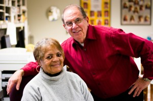 John Viola and Mary Tucker, along with Vic Cannon (not pictured), will be retiring from Vassar's post office at the end of the semester. With their departure, the post office may see changes to how it operates. Photo By: Emily Lavieri-Scull