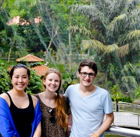 The Vassar Debate Society sent Hannah Matsunaga '16, Sophia Pitcairn '16 and Max Moran '16 to the Worlds Debate Tournament in Malaysia over Winter Break. The three debaters competed against students from over 90 nations. Photo By: Max Moran