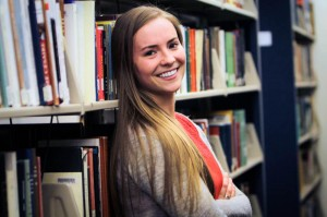 Hannah Van Demark is the most recent recipient of the Clark Fellowship. This past Oct., she traveled to Arkansas to do research for her history thesis on U.S. foreign policy under the Clinton administration. Photo By: Vassar Admissions