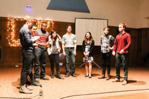 A cappella, in addition to a number of other performances, will be featured in Liberty in North Korea's (LiNK) annual concert and fundraiser. The proceeds will go to helping refugees in the region. Photo By: LiNK