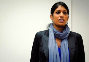 Expert on gender and gender-based violence Nimmi Gowrinathan will speak at Vassar about the subject of her most recent article, women actively supporting the rule of an Islamist rebel group. Photo By: Yale School of Public Health