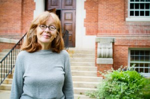 Associate Professor of English Jean Kane makes it a point to invite the 12 students in her year-long senior composition course to her apartment at the end of the semester. Students appreciate the change in setting. Photo By: Jacob Gorski