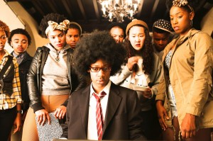 'Dear White People' a satirical film by director Justin Simien focusses on issues of race and representation on college campuses. The screening, hosted by several offices and administrators, is an effort to foster dialogue on race at Vassar . Photo By: The Huffington Post