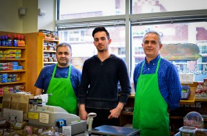The My Market employees have become fixtures of the Vassar and Poughkeepsie community. Over the years, they have formed bonds with students and often take their needs into account when stocking the store. Photo By: Jacob Brody