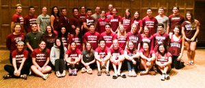 The Student Athletic Advisory Committee has been at the forefrunt of organizing Student-Athlete week at Vassar College. The week looks to celebrate student athletes and encourage wider support. Photo By:  Vassar Athletics