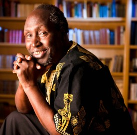 "Ngugi Wa Thiong'o, a author and Nobel Prize nominee, will be coming to Vassar to deliver a lecture called ""Decolonizing the Mind: Are We There Yet?"" which addresses postcolonial theory. Photo By: Daniel A. Anderson"