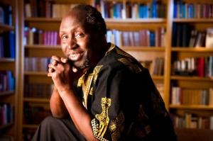 """Ngugi Wa Thiong'o, a author and Nobel Prize nominee, will be coming to Vassar to deliver a lecture called """"Decolonizing the Mind: Are We There Yet?"""" which addresses postcolonial theory. Photo By: Daniel A. Anderson"""